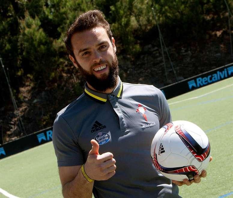 Sergio Álvarez prefiere tener los pies en la tierra para la nueva temporada. EFE