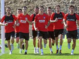 O Atlético está se convertendo numa 'ONU' do futebol com 11 nacionalidades diferentes. EFE