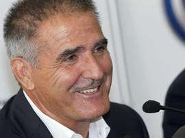 Herrera sigue sin desvelar el sustituto de Sergio Álvarez. EFE