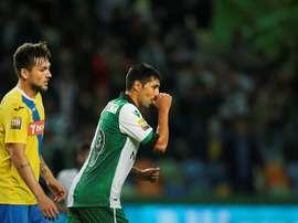 Utilização do argentino, esta temporada, tem sido intermitente. EFE/Archivo