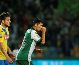 Ruiz foi alvo de processo disciplinar do Sporting CP. EFE