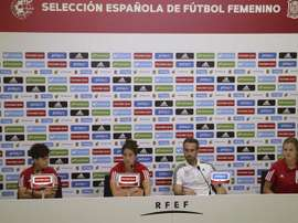 Las de Vilda confían en estar en el Mundial de Francia 2019. EFE