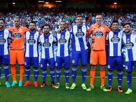 El Deportivo golea, pero pierde a Florin Andone. EFE