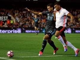 El jugador estará cedido en el conjunto brasileño hasta 2018. EFE/Archivo