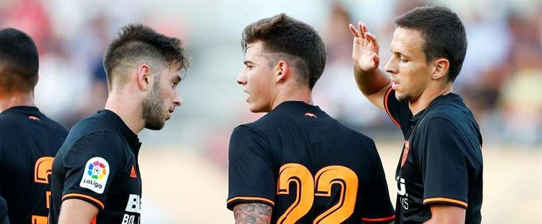 El Valencia cayó derrotado por 2-0 ante el Cosmos. EFE