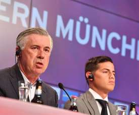Ancelotti is still pushing for the Colombian's signing. EFE