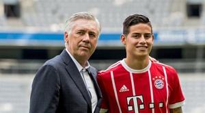 O ex-Real Madrid se estreou pelo Bayern no sábado. EFE