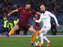 Federico Fazio restera à Rome au moins une saison de plus. EFE