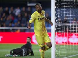 Cedric Bakambu extended his deal until 2022. EFE/Archivo