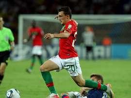 El jugador abandona la Roma. EFE