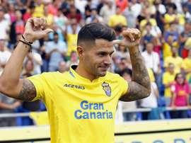 Vitolo regressa hoje ao Sanchez Pizjuán. EFE