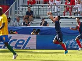 Costa Rica avanza con paso firme. EFE