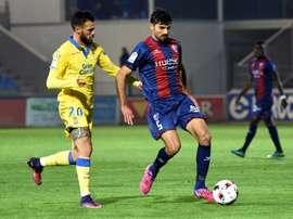 Tyronne jugó la pasada temporada en el Tenerife como cedido. EFE/Archivo