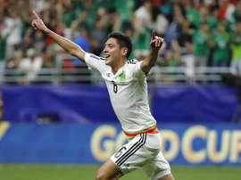 Edson Álvarez suscite l'intérêt de l'Ajax. EFE