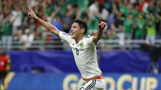 El joven jugador disfrutó de varios partidos en Rusia. EFE