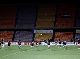 River Plate retoma los entrenamientos con sus refuerzos. EFE