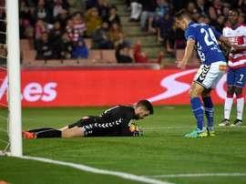 Le gardien d'Alavés pourrait rejoindre la Real Sociedad. EFE