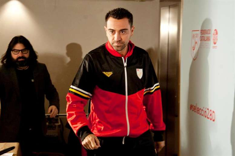 Xavi is already thinking about the future. EFE