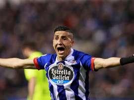 El centrocampista marroquí se marcha al Getafe. EFE/Archivo