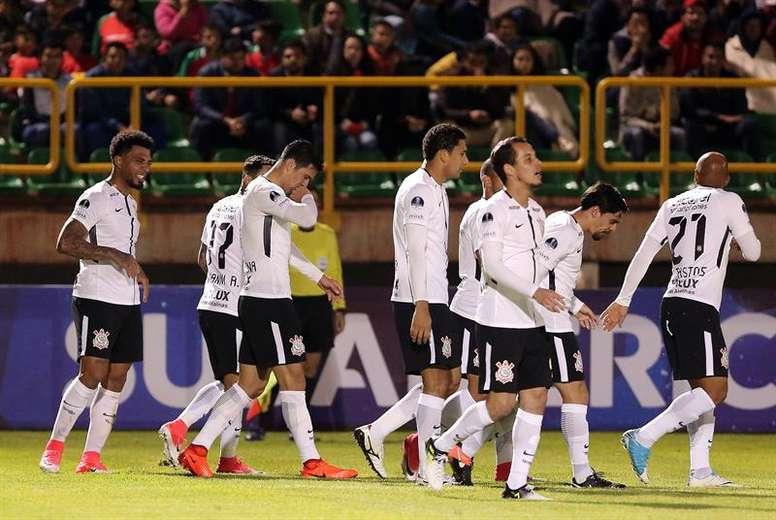 Corinthians acaba la primera vuelta siendo líder. EFE/Archivo