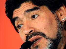 Maradona cree que tiene nivel para Madrid y Barça. EFE