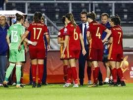 España perdió ante Inglaterra, mientras Portugal se imponía a Escocia. EFE