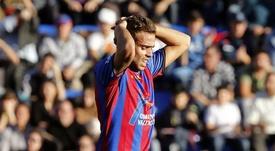 Volvió, marcó... pero su equipo no pudo ganar. EFE