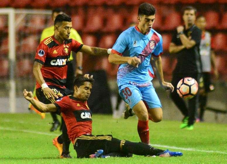 Sport Recife quiere hacer historia en Argentina. EFE