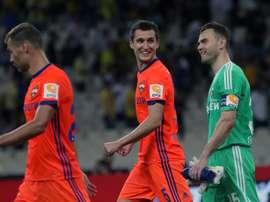 CSKA de Moscovo já é um 'velho conhecido' na Champions League. EFE