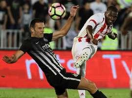 Equipe grega levou de vencido o Rijeka. EFE