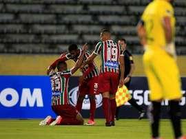 Fluminense no pudo pasar del empate ante su afición.