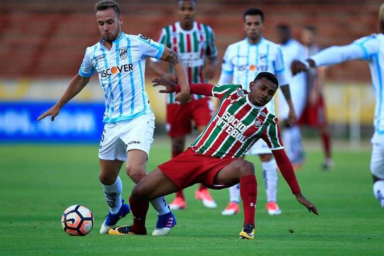 Wendel podría jugar en el Sporting de Lisboa. EFE