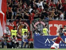 El Dinamo llegará con el impulso de un triunfo a la vuelta. EFE