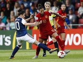España jugará un amistoso contra la Selección Alemana. EFE/Archivo