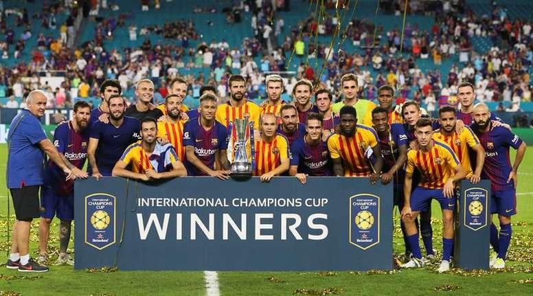 La ICC sería el modelo para la Superliga Europea. EFE/Archivo