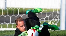 Ter Stegen sait qu'il ne sera pas titulaire au Mondial. EFE