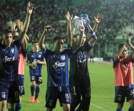 Atlético Tucumán se clasificó para cuartos de la Copa Argentina. EFE
