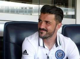 Villa quiere seguir jugando un año más. EFE/Archivo