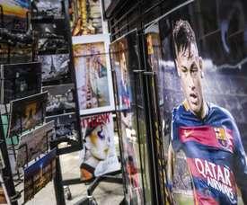 Neymar é o novo jogador do PSG. PSG