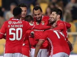 El Benfica venció a Vitória Guimaraes por 3-1. EFE/Archivo
