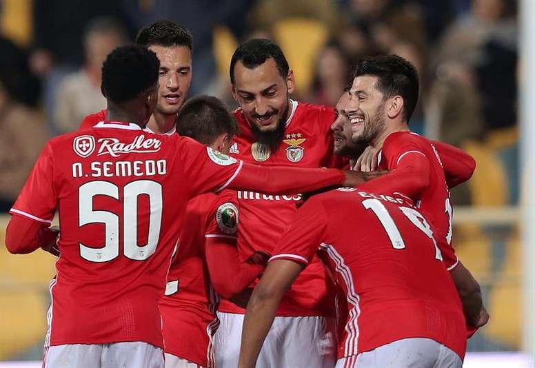 El Benfica es el favorito para llevarse el título. EFE/EPA