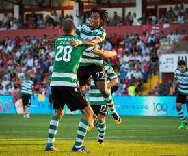 Sporting vence Paços de Ferreira. EFE