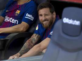 Messi brille par son absence. EFE