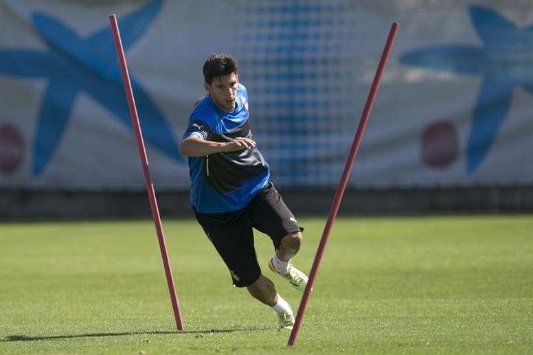 Javi López busca resarcir al equipo. EFE