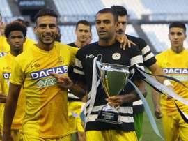 El Celta salió derrotado en los penaltis ante el Udinese. EFE