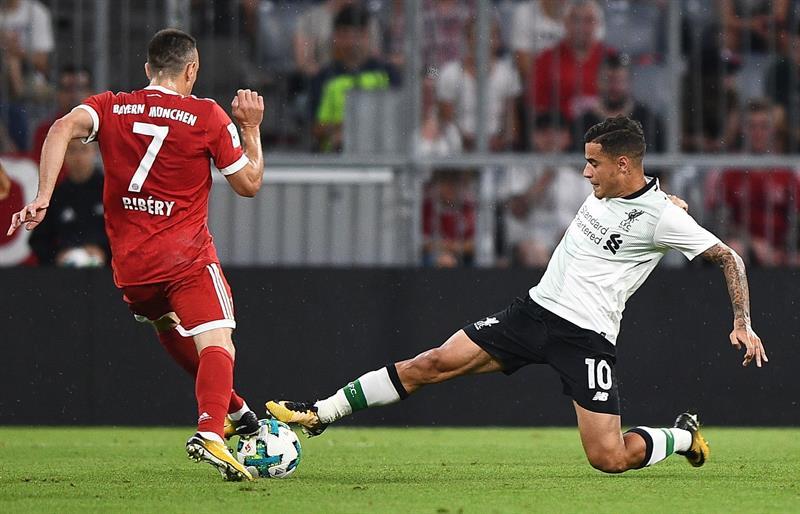Fuentes: Coutinho, a un paso del Bayern Munich