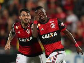 Vinicius a marqué son premier but. EFE