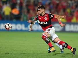 El 'Fla' se pasea para conseguir el pase en la Conmebol Sudamericana. EFE