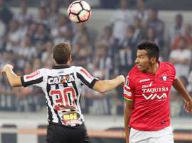Atlético Mineiro podría ceder a uno de sus jugadores al CRB. EFE/Archivo