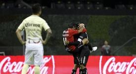 El peruano Alexi Gómez pone rumbo al Atlas para hacerse sitio en el Mundial. EFE